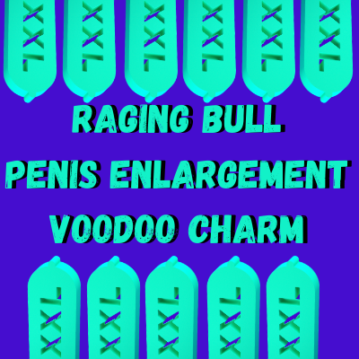 Raging Bull Penis Enlargement Voodoo Charm