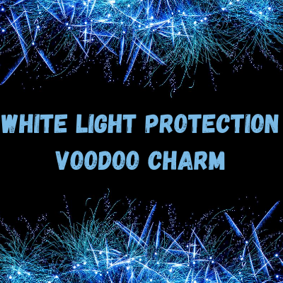 White Light Protection Voodoo Charm