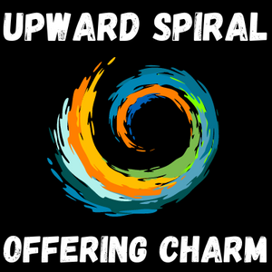 Upward Spiral Offering Charm