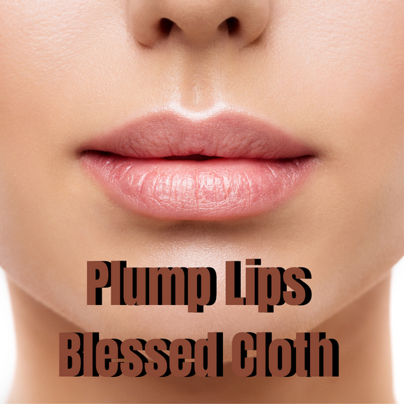 Plump My Lips Blessed Banner