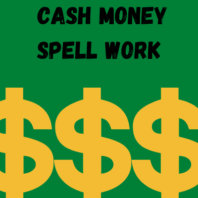 Cash Money Spell