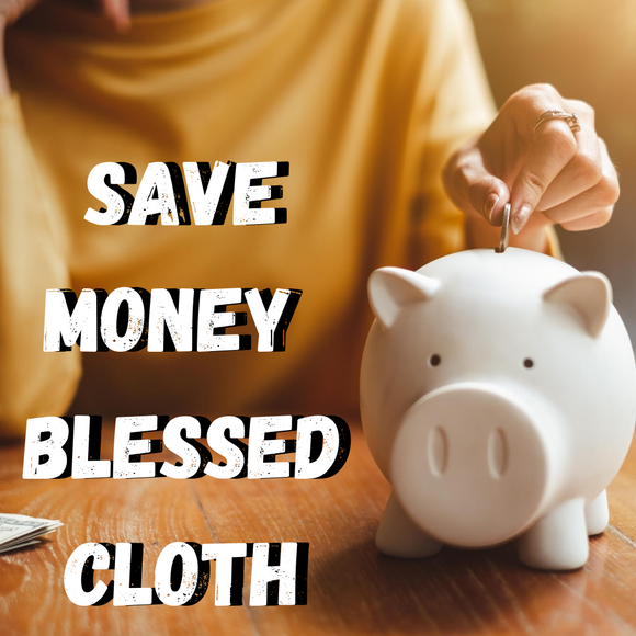 Save Money Blessed Banner