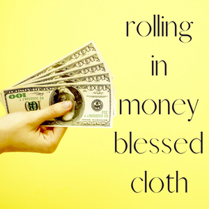 Rolling In Money Blessed Banner