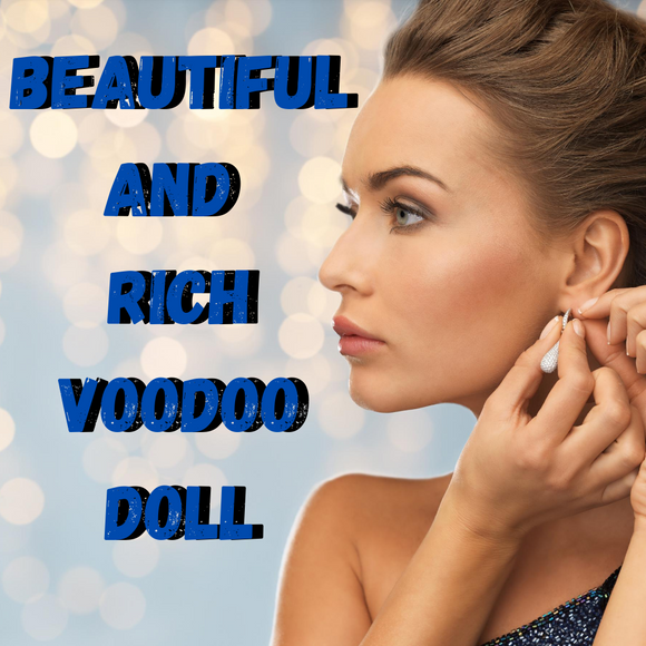 Beautiful and Rich Voodoo Doll