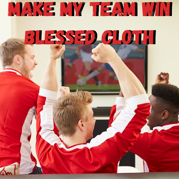 Make My Team Win Blessed Banner