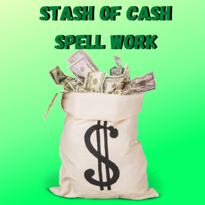 Stash Of Cash Spell