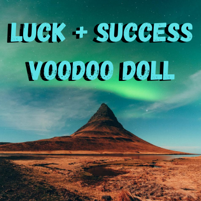 Luck and Success Voodoo Doll