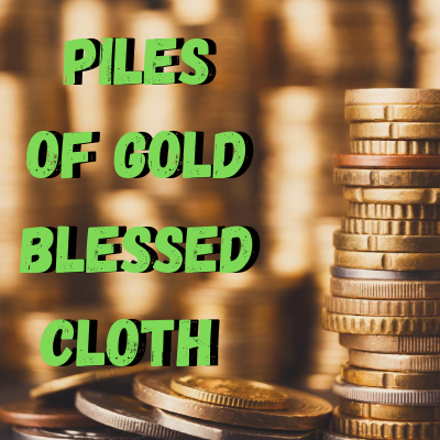 Piles of Gold Blessed Banner