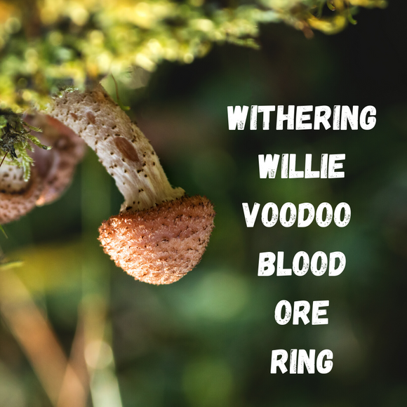 Withering Willie Blood Ore Ring