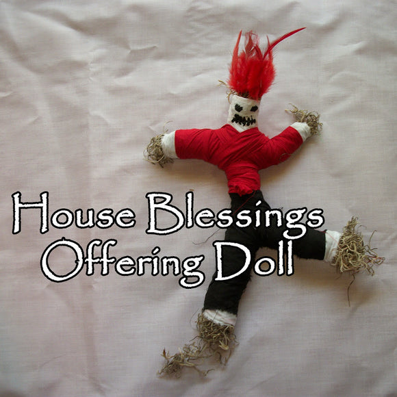 House Blessings Voodoo Doll