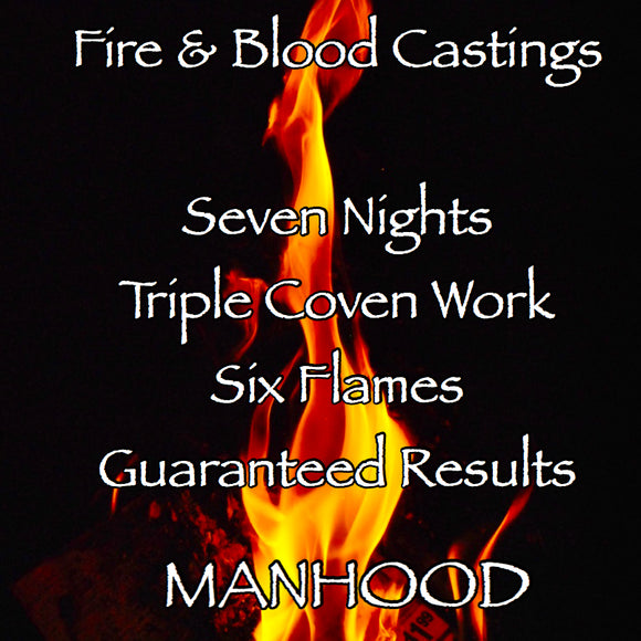Penis Enlargement Seven Night Triple Coven Cast Fire and Blood Casting
