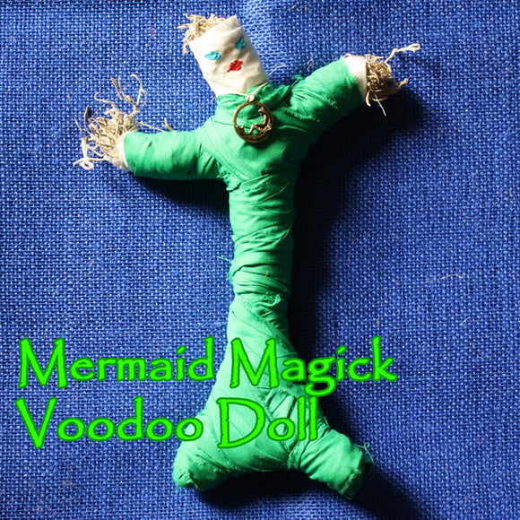 Mermaid Magick Voodoo Doll