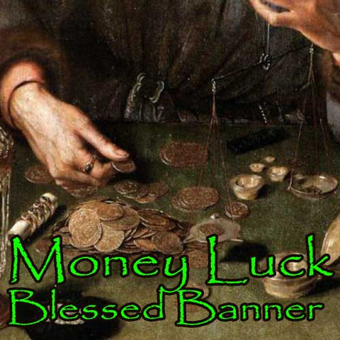 Money Luck Blessed Banner
