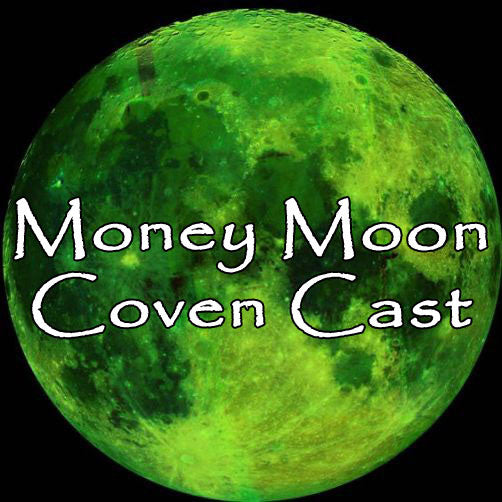 Full Moon Money Moon Voodoo Doll Triple Coven Casting