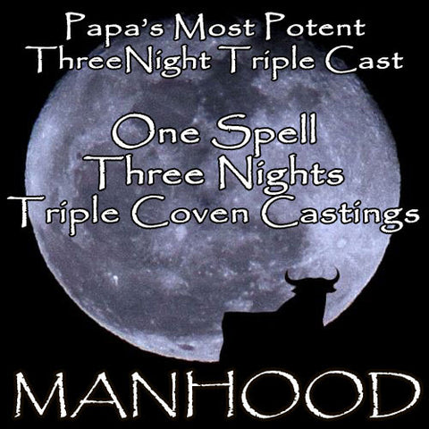 Penis Enlargement Voodoo Spell Three Night Triple Coven Casting