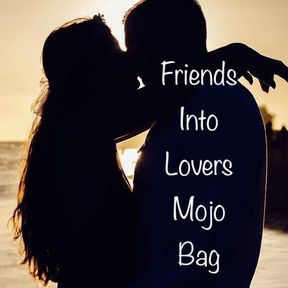 Friends Into Lovers Mojo Bag