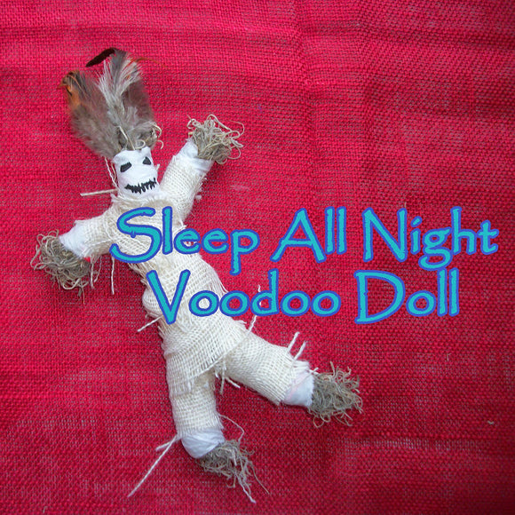 Sleep All Night Voodoo Doll