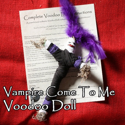 Vampire Come To Me Voodoo Doll