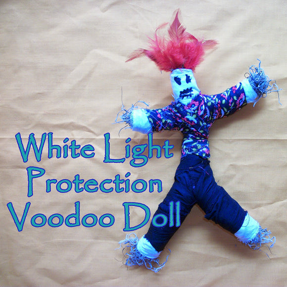 White Light Protection Voodoo Doll