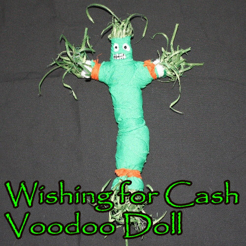 Wishing For Cash Money Voodoo Doll