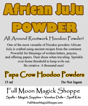 African JuJu Powder for all around blessings