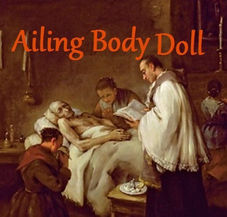 Ailing Body Voodoo Doll