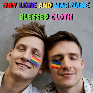Gay Love and Marriage Blessed Banner