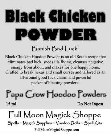 Black Chicken Powder sends ills packing and brings good tidings home to roost