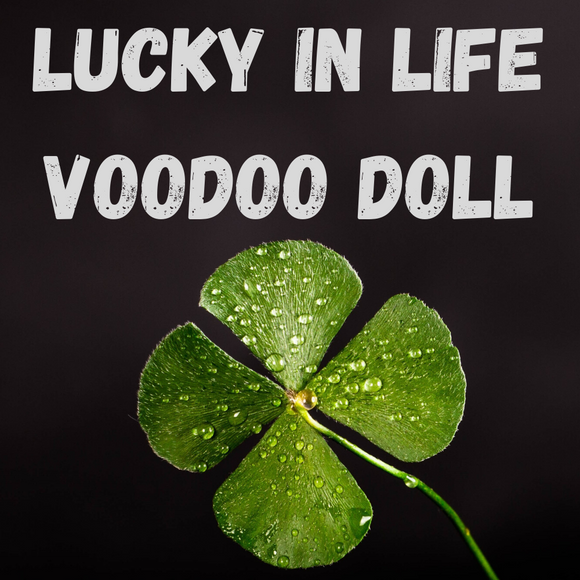 Lucky In Life Voodoo Doll