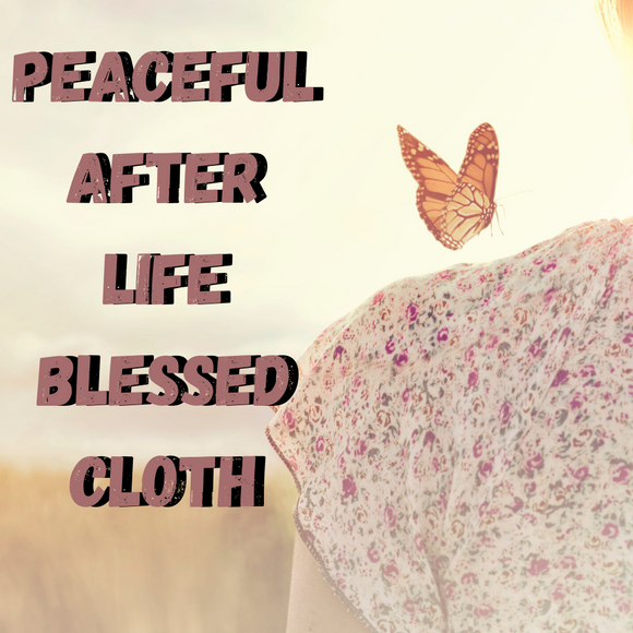 Peaceful Afterlife Blessed Banner