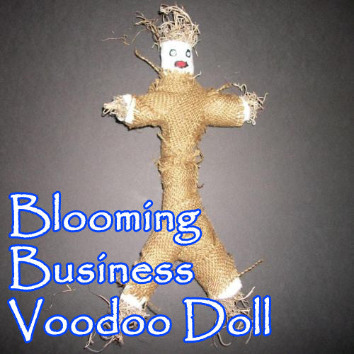 Blooming Business Voodoo Doll
