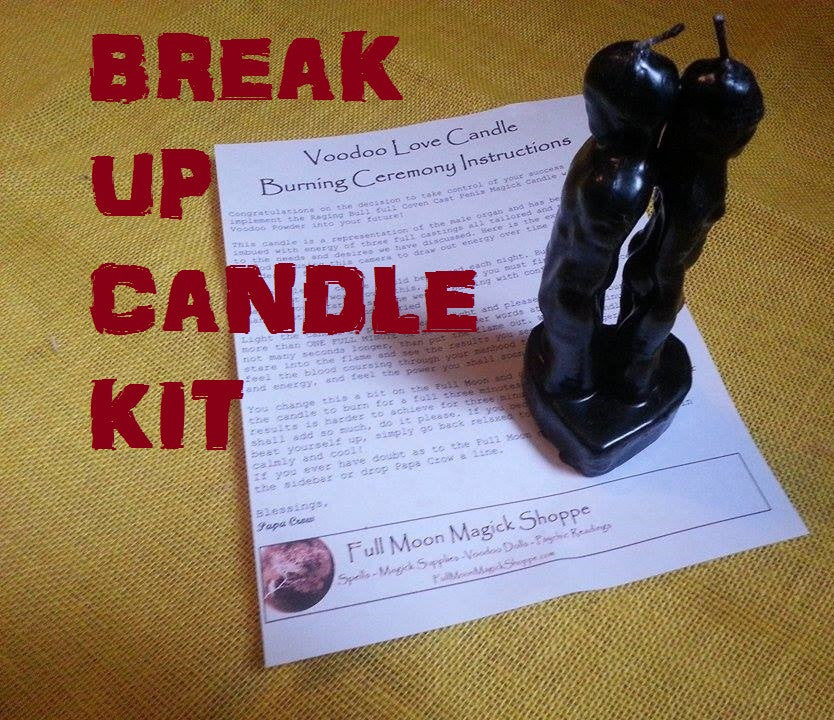 Break Up Candle Spell Kit