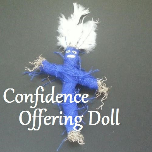 Confidence Offering Doll