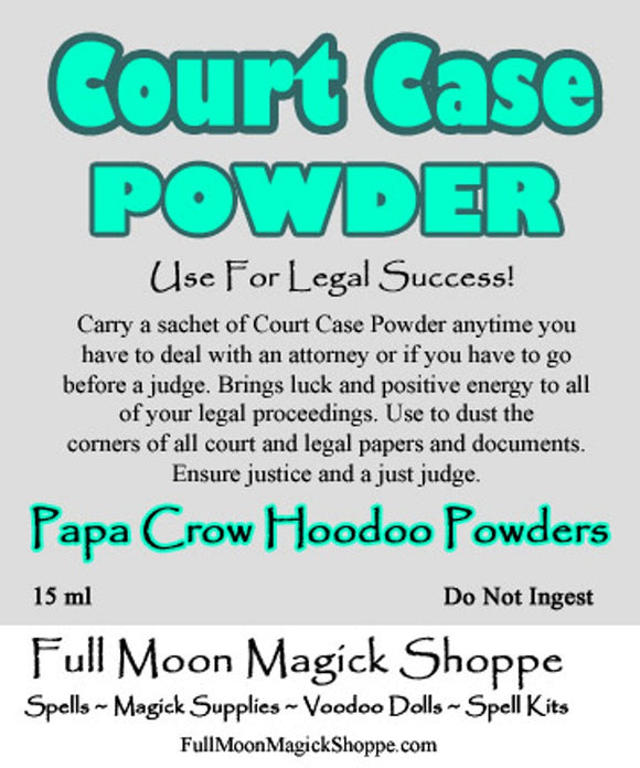 Court Case Powder ensures positive energy and outcomes in all legal matters