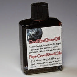 Devil Be Gone Oil