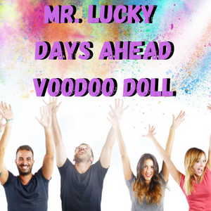 Mr. Lucky Days Ahead Voodoo Doll