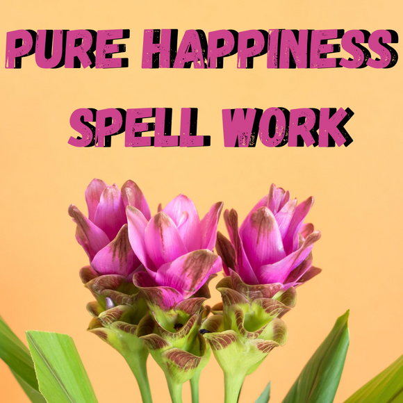 Pure Happiness Voodoo Spell