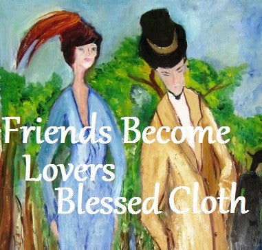 Friends Become Lovers Blessed Banner
