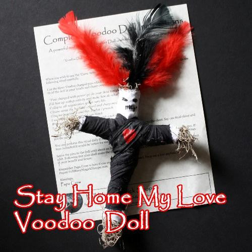 Stay Home My Love Voodoo Doll stops wandering minds, keeps spouses at home, and ends cheating