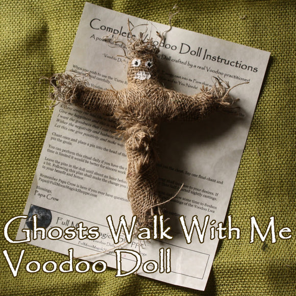 Ghosts Walk With Me Doll