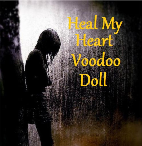 Heal My Heart Voodoo Doll