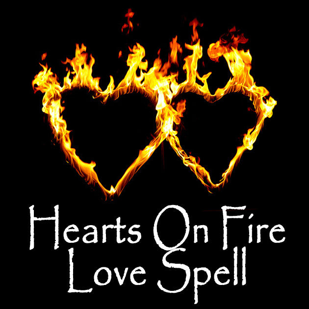 Hearts On Fire Voodoo Love Spell draws lover or a lover to you