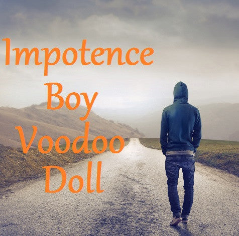 Impotence Boy Voodoo Doll