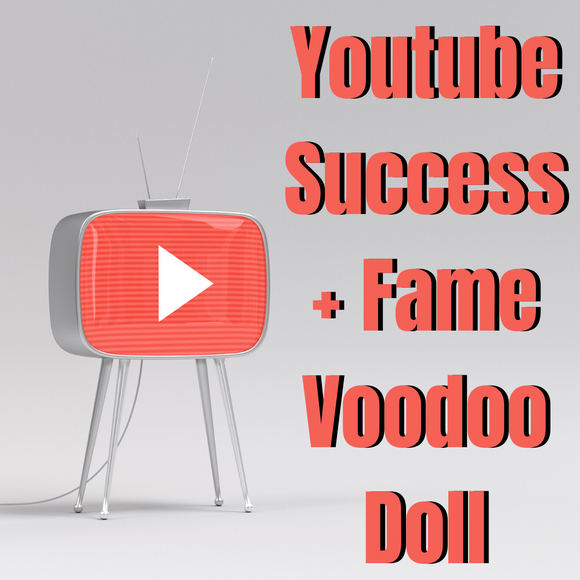 Youtube Success + Fame Voodoo Doll