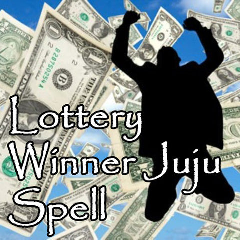 The Lottery Winner Juju Spell stops you from wasting lottery dollars and creates positive energy for big winning luck and numbers