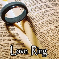 Voodoo Love Spell Blood Ore Ring