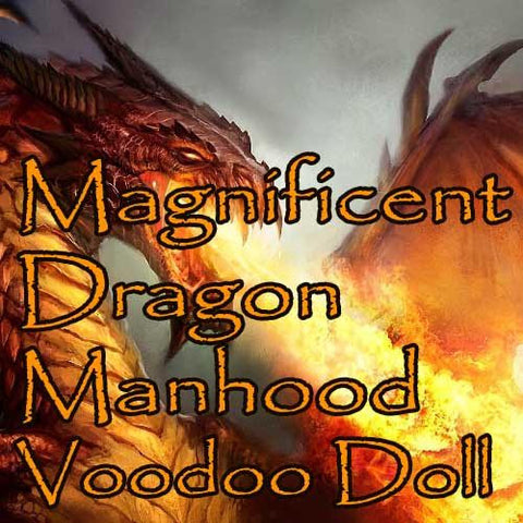 magnificent dragon manhood voodoo doll