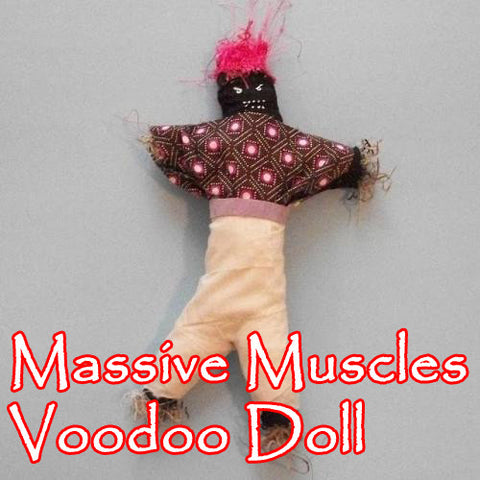 Massive Muscles Voodoo Doll