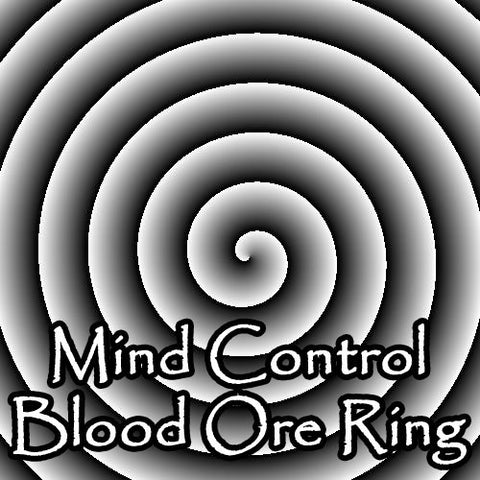 Mind Control Blood Ore Ring