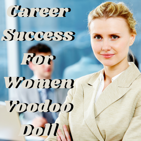 Career Success For Women Voodoo Doll